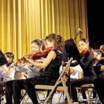 """""""They love playing the music,"""" says Profili of the students."""
