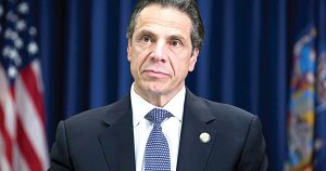 """We will stand up for you,"" says Gov. Andrew Cuomo."