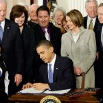 The ACA was signed into law in 2010.