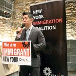 Steven Choi of the New York Immigrant Coalition.