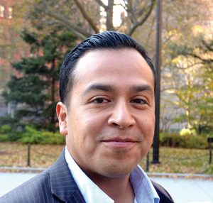 """""""Time is of the essence,"""" said activist Cesar Vargas."""
