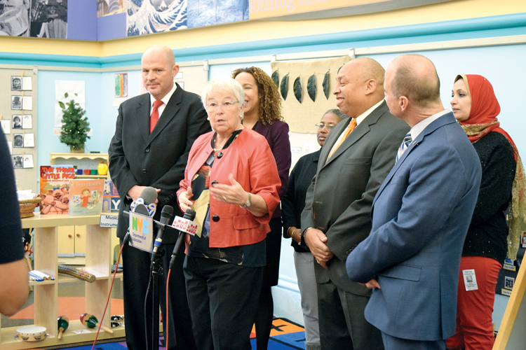 """Today's agreement builds on our work to improve development opportunities,"" said Schools Chancellor Carmen Fariña."