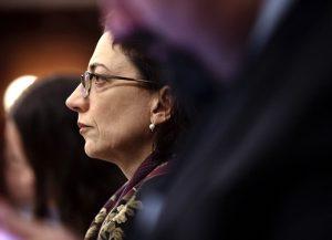 DOT Commissioner Polly Trottenberg testified. Photo: William Alatriste