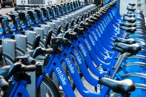 It is the country's largest bike-sharing program.