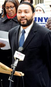 """""""It's time to have a new vision for CUNY,"""" said the Hispanic Federation's José Dávila."""