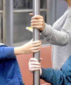 Subway Sleuths celebrates participants' enthusiasm for trains.