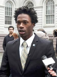 Hercules Emile Reid attends the New York City College of Technology.