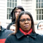 """""""Students are caught in the middle,"""" said Public Advocate Letitia James."""
