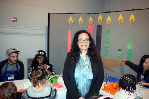 """It's a cultural holiday,"" explained Adina Williams, Senior Manager of Public Programs."