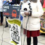 """Healthcare isn't a privilege of the few,"" said Deputy Mayor Herminia Palacio."