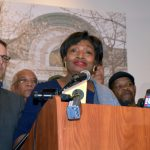 """We need fighters on every level,"" said State Senator Andrea Stewart-Cousins."