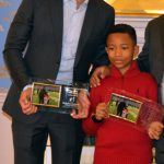"""Michael Furlani and his """"little brother"""" O'Shea were recognized."""