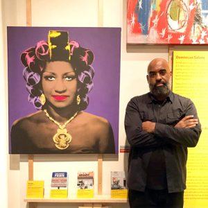 """It's definitely an honor,"" said artist M. Tony Peralta."