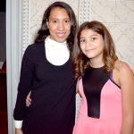 """""""It fills me with so much joy,"""" says """"Big Sister"""" Carolina Zapata (left) with Josely."""