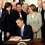 President Barack Obama signed the Act into law on March 23, 2010.