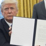 President Donald Trump has signed a series of executive orders.