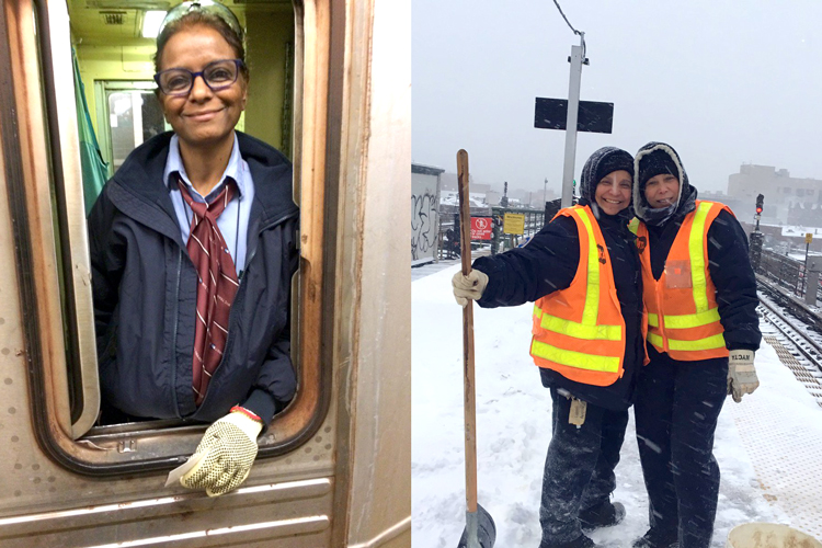 Female transit workers now make up about 20 percent of the union.