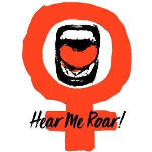 Hear.Me.Roar by Elana Goren (Silkscreen, USA).