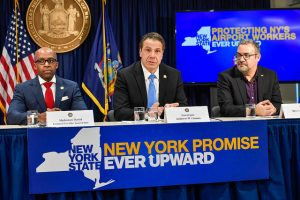 Gov. Andrew Cuomo announced the new hotline.
