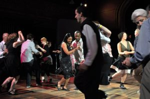 Lindy Hop your way through the night.