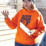"""""""I'm leaving my apartment when I want, not when the landlords want,"""" said Lourdes De La Cruz."""
