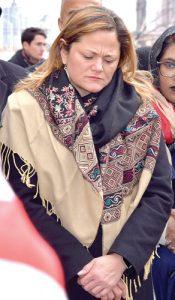 City Council Speaker Melissa Mark-Viverito.