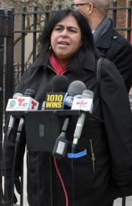 Dr. Awilda Torres of Inwood Community Services spoke in favor of the legislation.