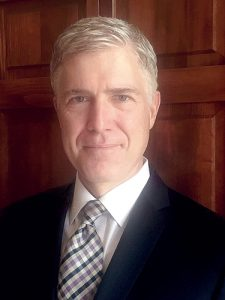 Neil Gorsuch has been nominated for the Supreme Court.