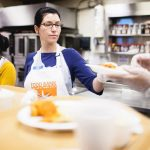 Food Bank's network serves around 1.4 million New Yorkers per year.