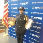NYPD Police Officer Bianca Bennett recently joined the force.
