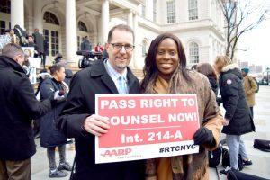 Councilmembers Mark Levine and Vanessa Gibson championed the legislation.