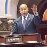 """It makes sense to press the pause button,"" said State Assembly Speaker Carl Heastie."