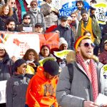 """""""There's always power in numbers,"""" said tenant organizer Ryan DuBois."""