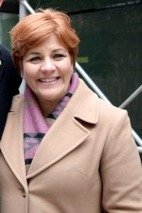 Former Speaker of City Council Christine Quinn serves as Win President.