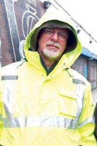 Craig Shields, a plant maintenance technician, is a 30-year veteran.