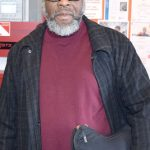 Mousa Moore has been visiting the library for more than 50 years.
