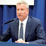 """These drugs are devastating lives in every kind of family in every borough,"" said Mayor Bill de Blasio."
