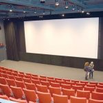 The film viewing room accommodates150 individuals.
