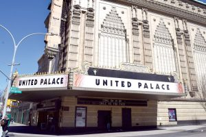 The United Palace was built in 1930.