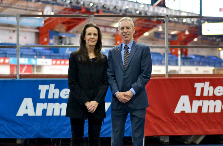 Rita Finkel and Jonathan Schindel were named co-presidents of Armory Foundation.