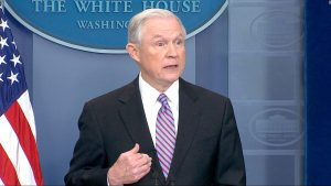 """Such policies cannot continue,"" said U.S. Attorney General Jeff Sessions."