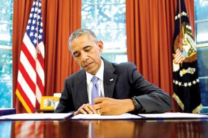 President Barack Obama signed the PROMESA bill on June 30th, 2016.