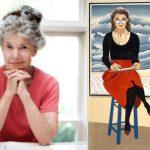 Vermont woodcut artist Sabra Field (at right, her self-portrait).