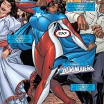 La Borinqueña draws her powers from a collection of ancient crystals.
