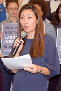 CORE coalition member Ivy Teng Lei.