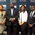 Richard Buery (second from left) is Deputy Mayor and Citywide Director of M/WBEs.