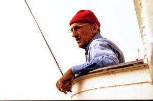 Marine explorer Jacques-Yves Cousteau.