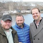 The festival is the brainchild of three Inwood residents (from left): Jason Minter, Todd Cerveris, and Aaron Simms.