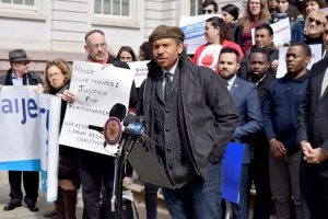 """Slavery is still alive and well,"" argued Ray Figueroa, President of the New York City Garden Coalition."