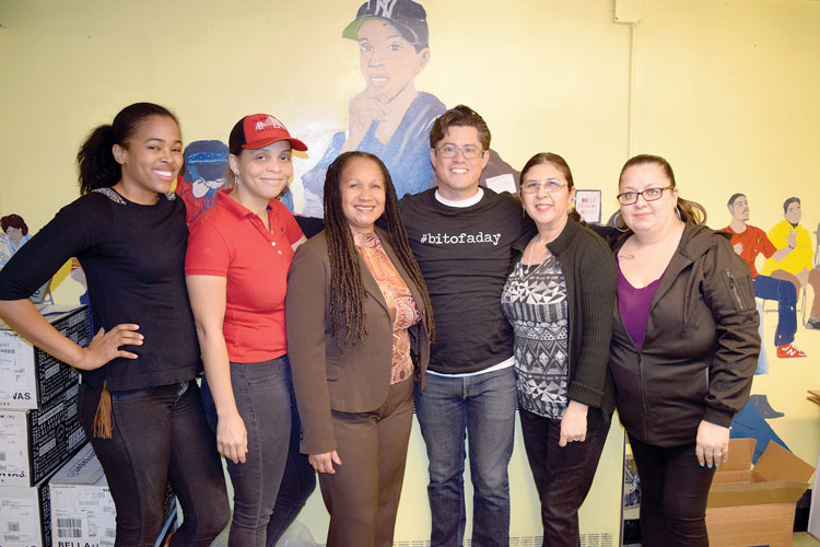 """These women were outpacing a billion-dollar company,"" said Luis Crespo (center)."